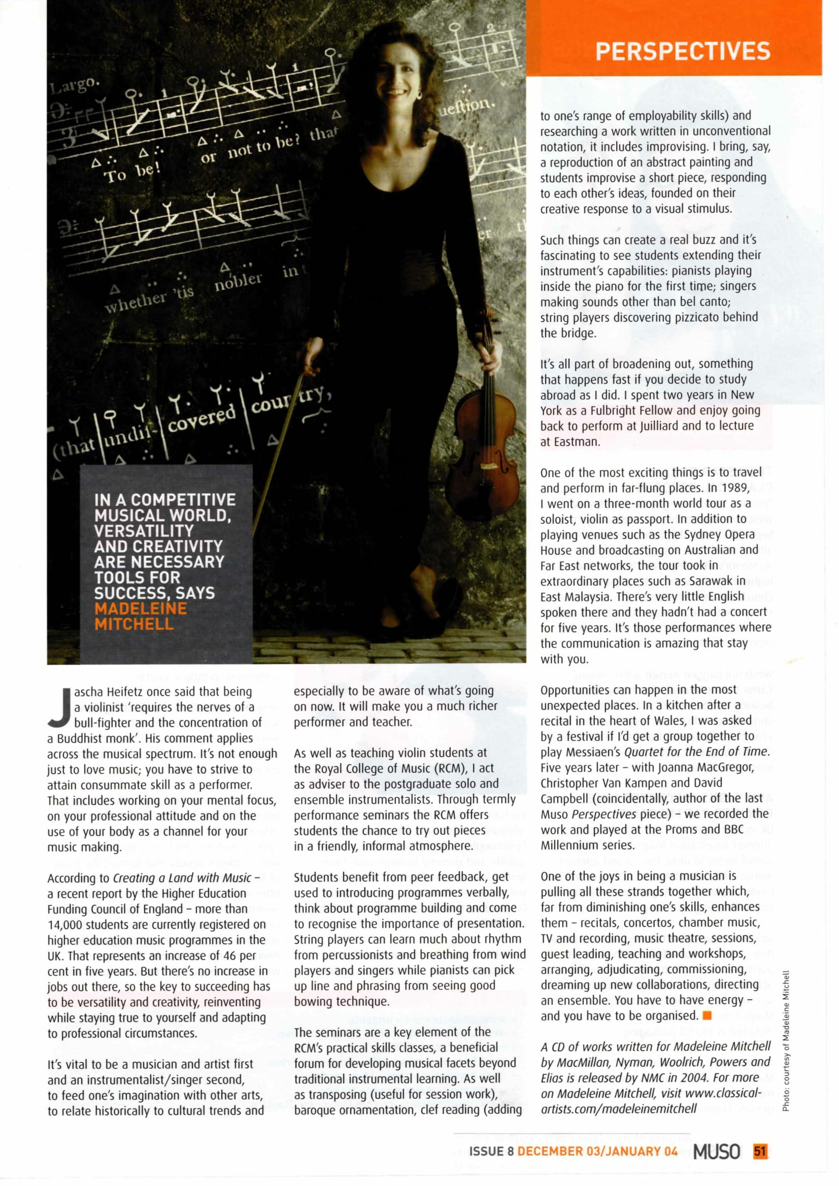 MUSO article by MM