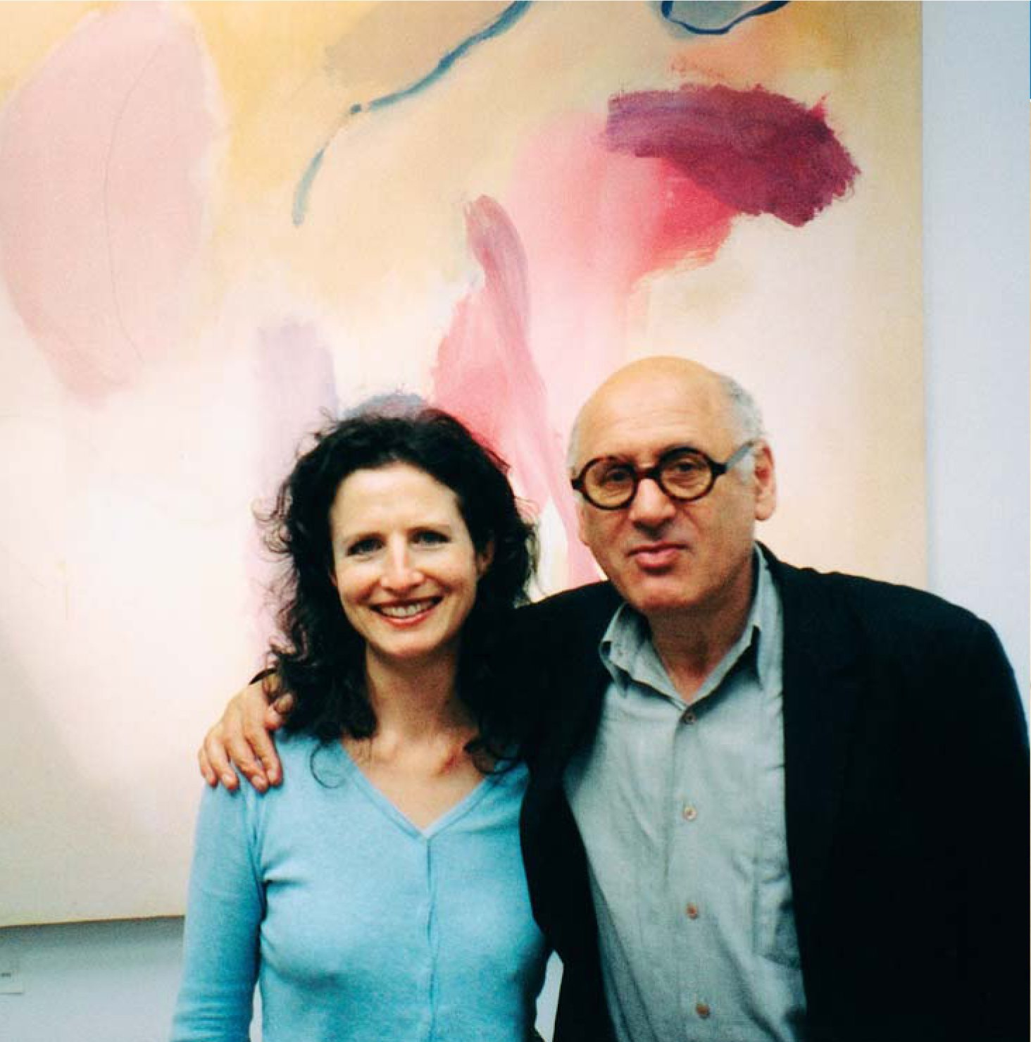 Madeleine and Michael Nyman
