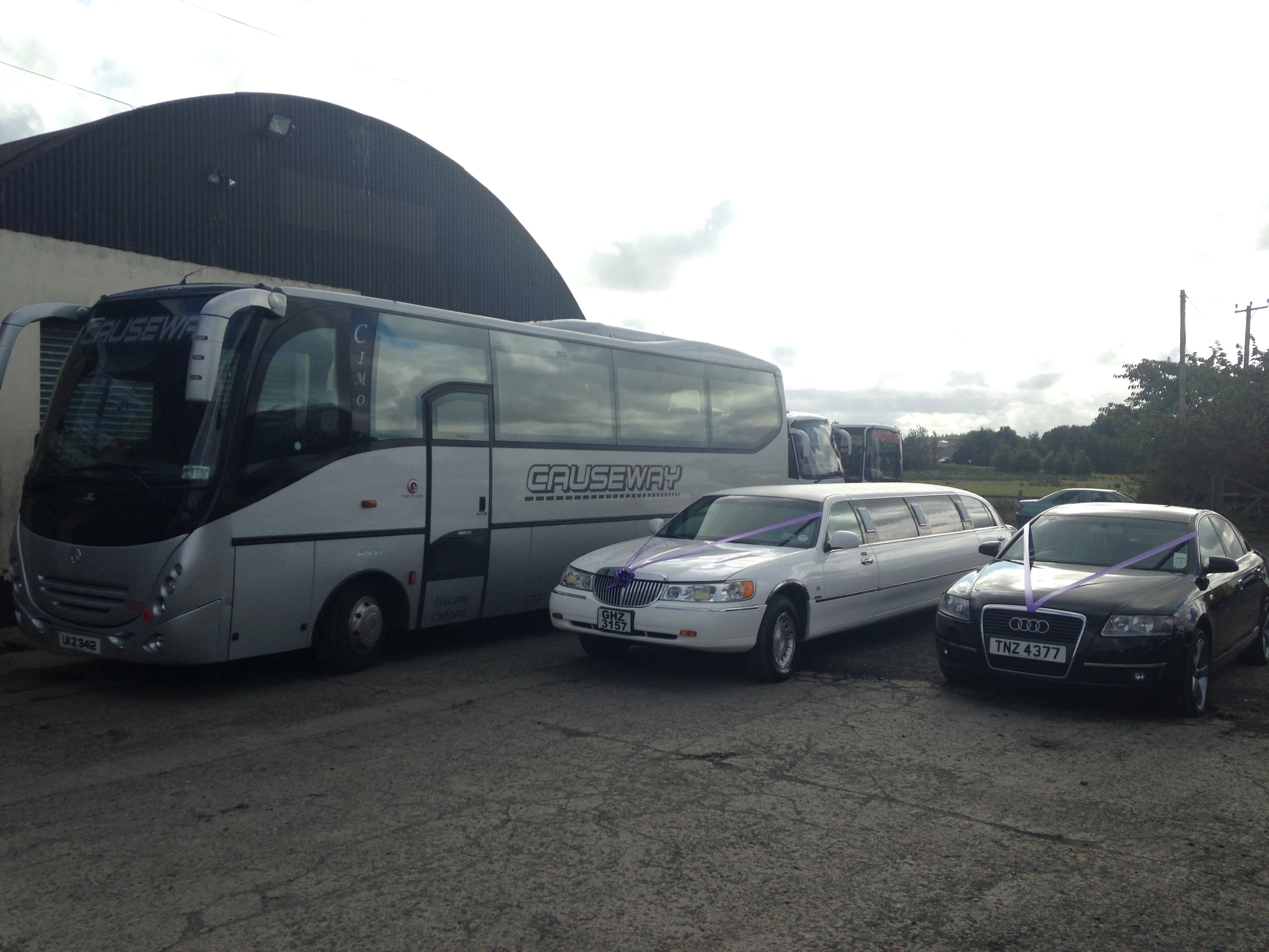 buses and limousines