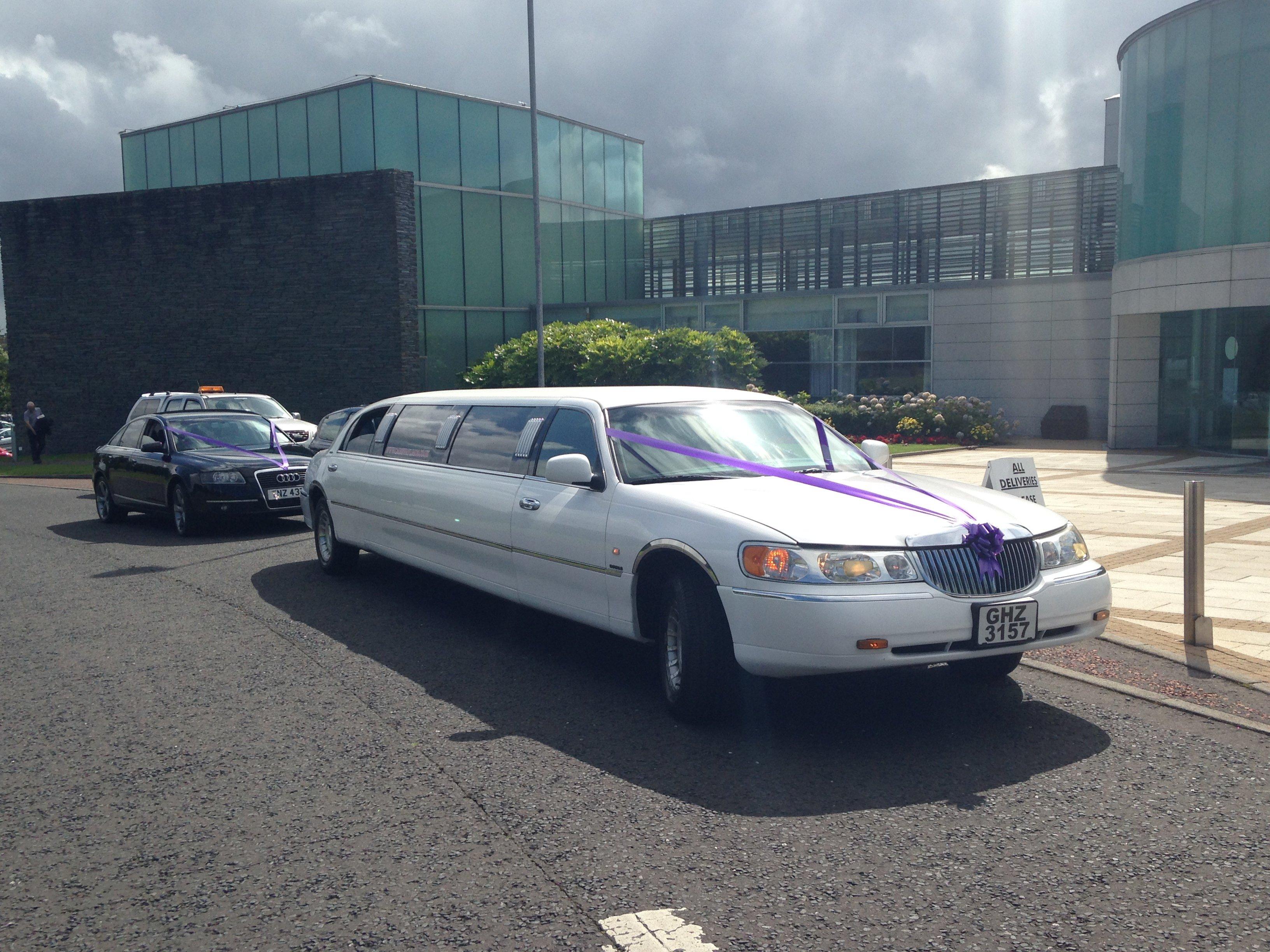 beautiful limousine