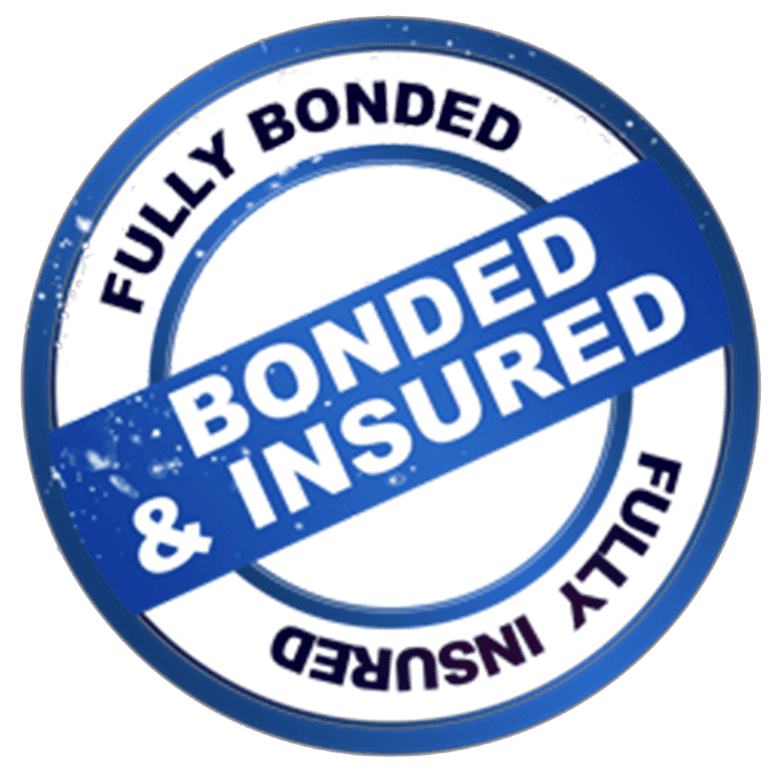 Fully bonded and insured sign