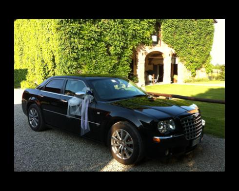 Automobile elegante per nozze