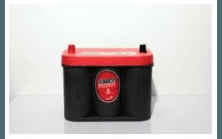Modello batteria Optima RED
