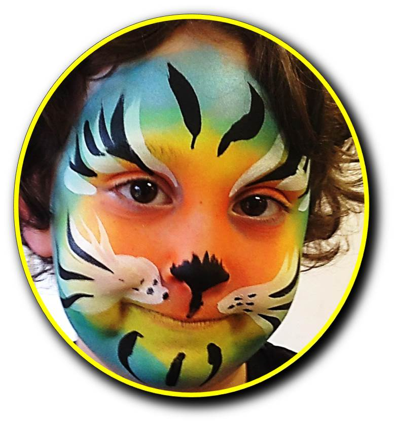 Themed designs for face painting