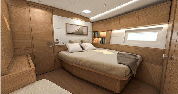 Grand Soleil LC 52 - camera da letto