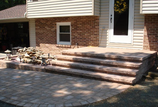 Paver Projects Steps Walls Poolscapes So Md
