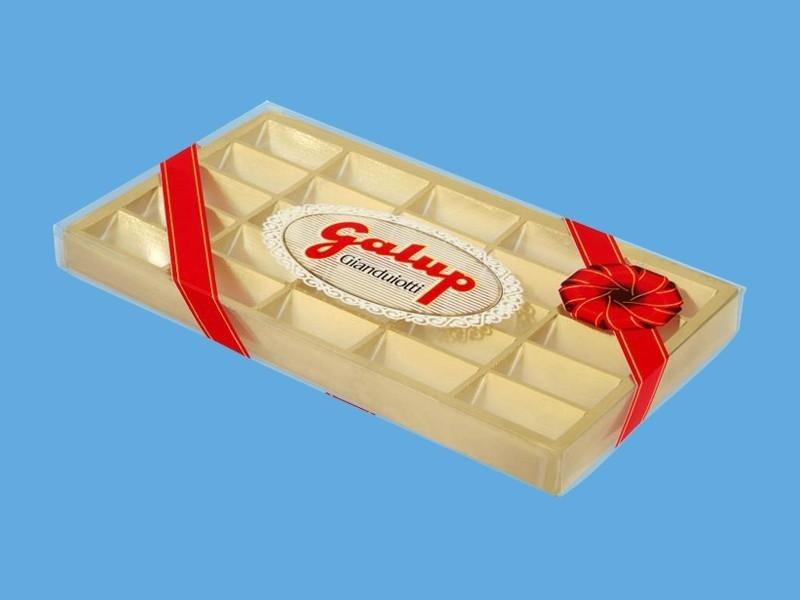 scatola cioccolatini pvc