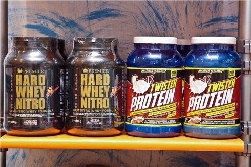 hard whey nitro - twister protein