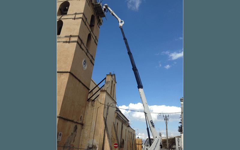Ristrutturazione camminamento torre