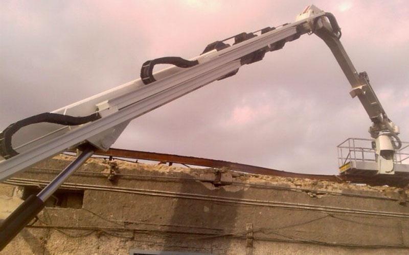 Intervento manutenzione tetto