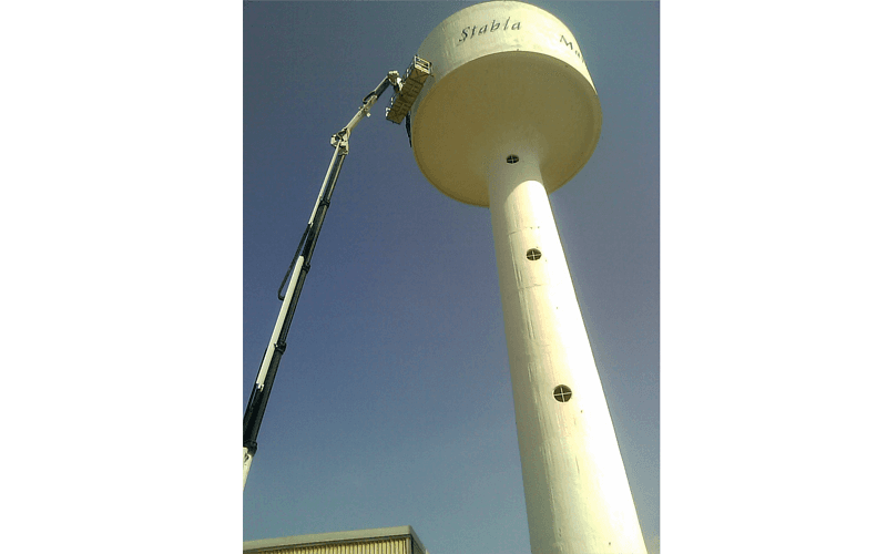 Affitto piattaforma aerea telescopica