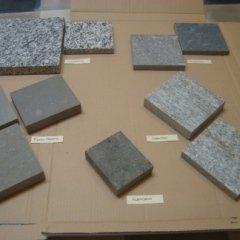 selezione in pietra, graniti, colorazioni scelti