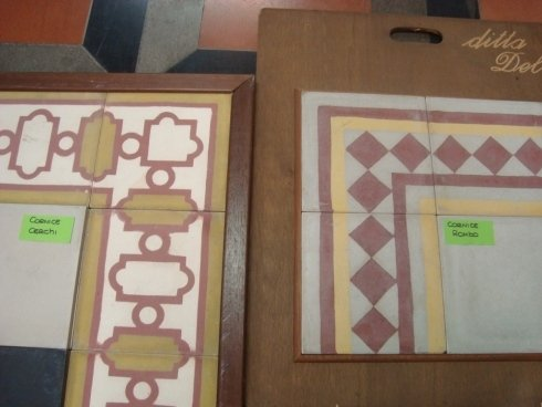 cornici decorate, vecchi stampi, pezzi unici