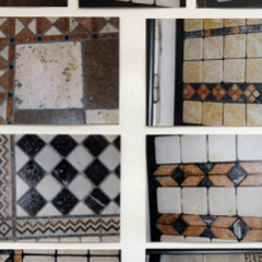 pavimenti in marmo burattato, marmi e graniti, colorazione