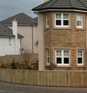 Fence repairs - Dunfermline, Fife - Hunters Property Services - Fence