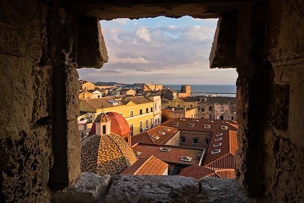 vista centro storico cagliari