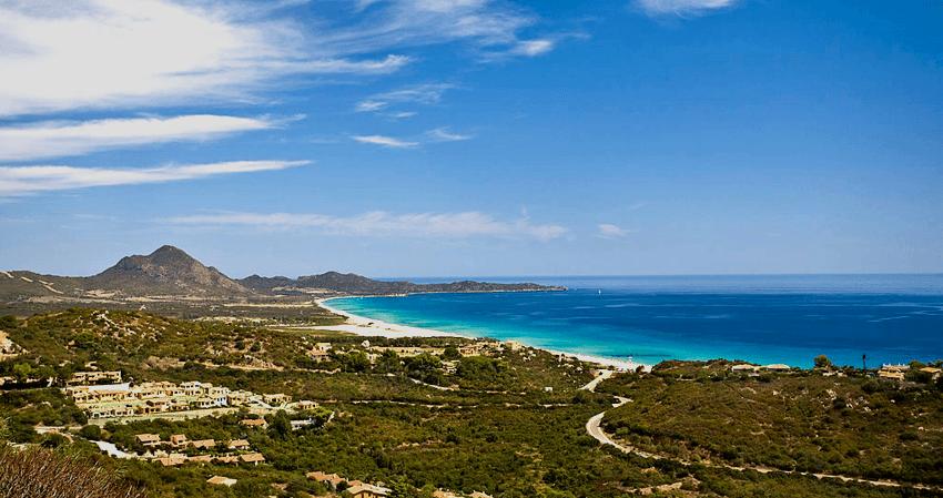 spiaggia a Feraxi