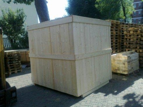 casse di legno per spedizione via mare