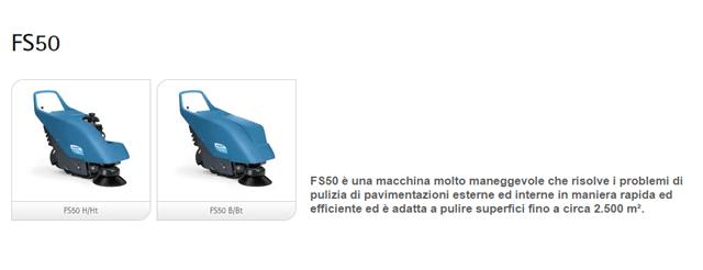 Assistenza spazzatrici fimap fs50