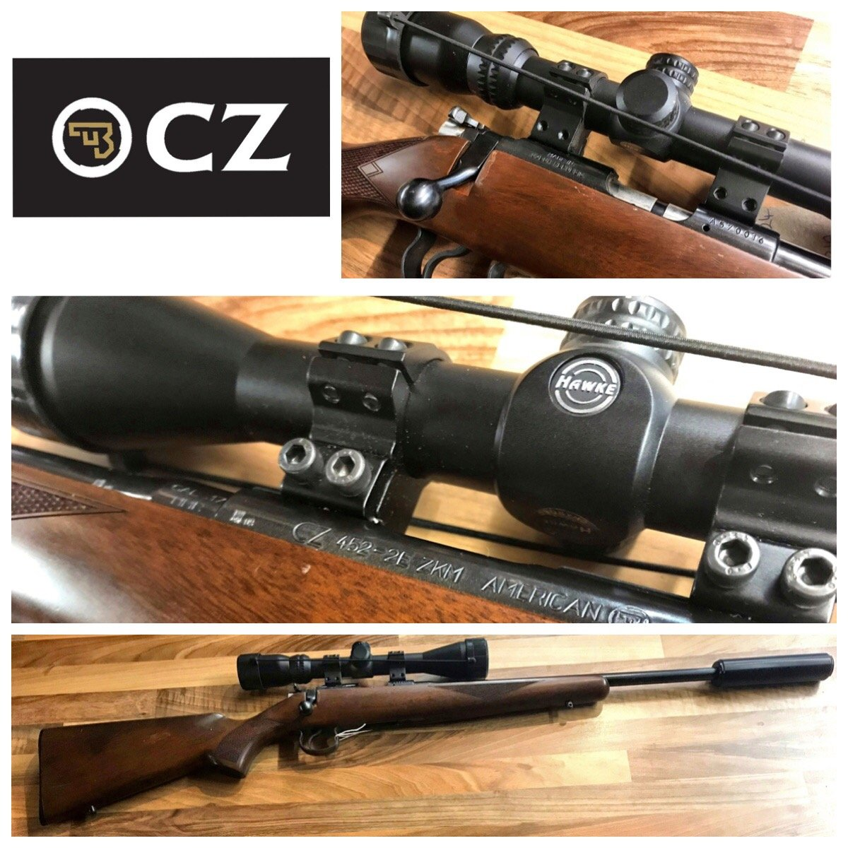 Cz 457 Scope Base