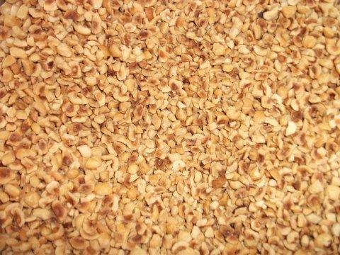 Hazelnut grains