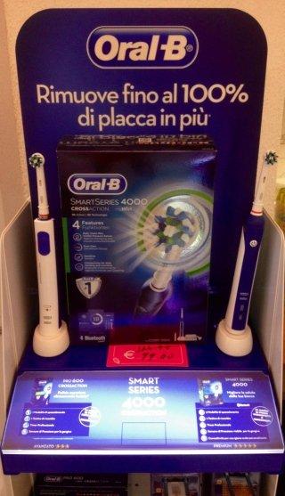 Orale spazzolino elettrico