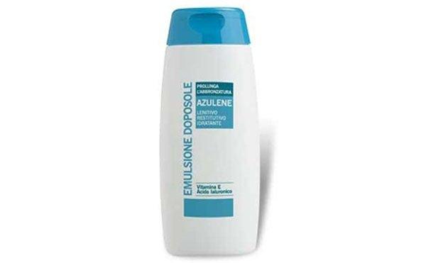 emulsione doposole azulene