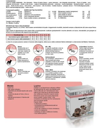 extra dry food maiale e lupino