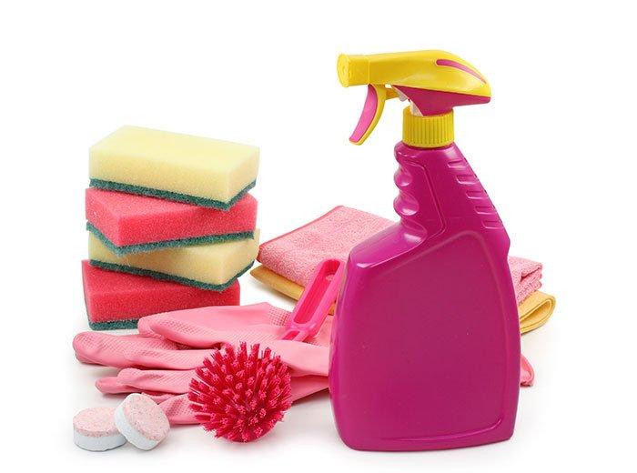 Prodotti detergenti, detersivi, pulizia