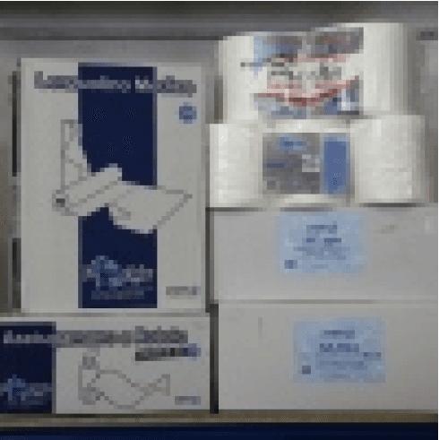 asciugamani in carta piegati, asciugamani, asciugamani di carta