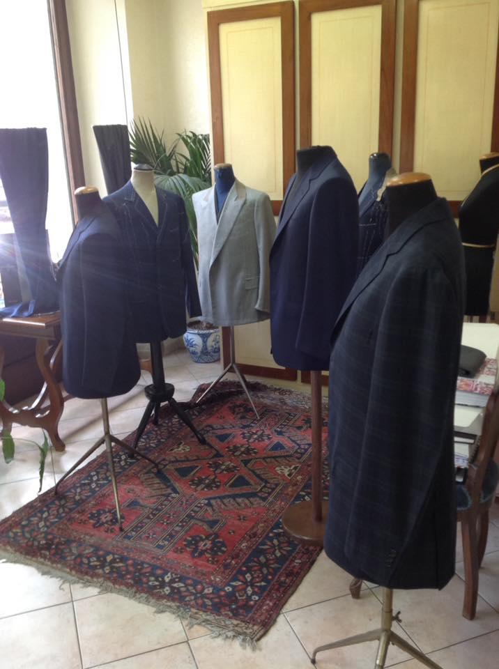 esposizione giacche da uomo