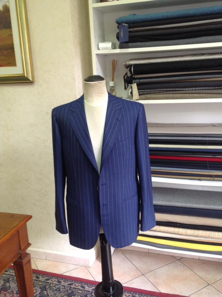 giacca da uomo blu