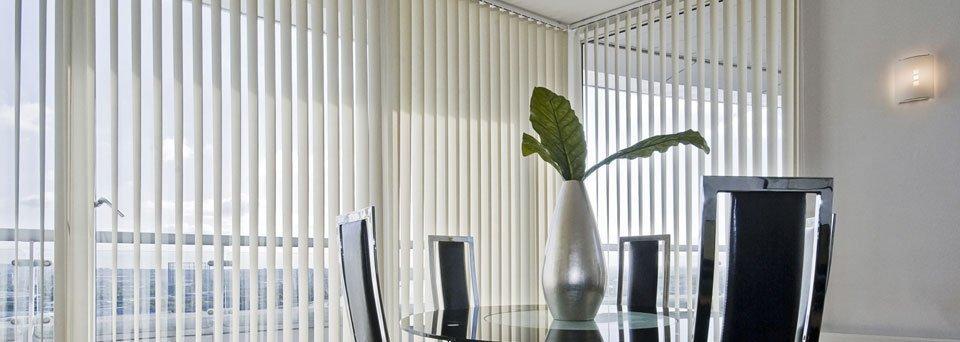 beige coloured blinds