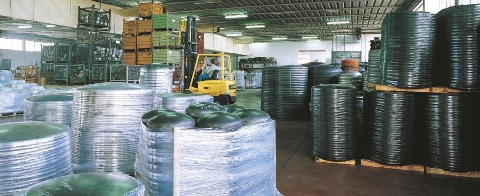 Logistik und Lagerhallen