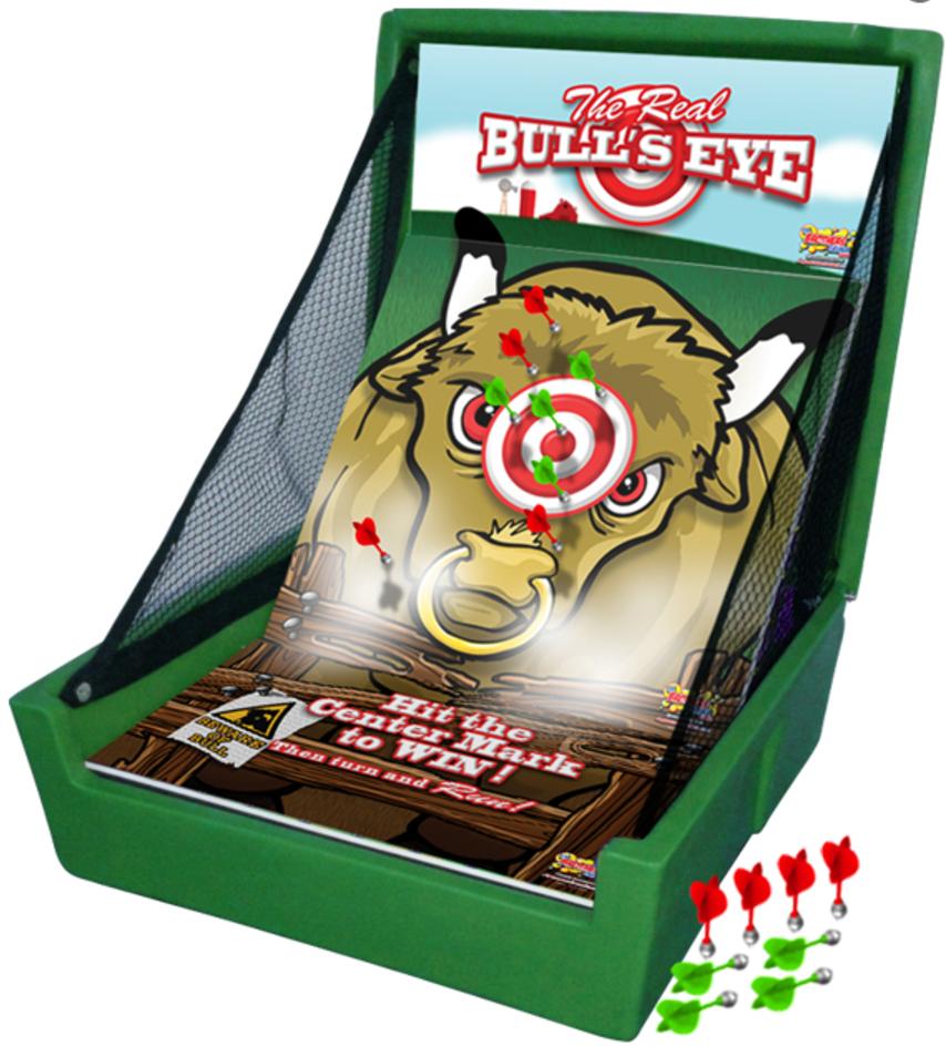 Bull's Eye, Carnival Game, Carnival Booth, Carnival Tent