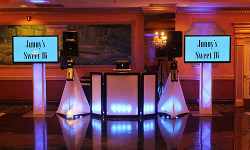 Sweet 16, DJ, 4k TV's, Sweet 16, Wedding, Bar/Bat Mitzvah