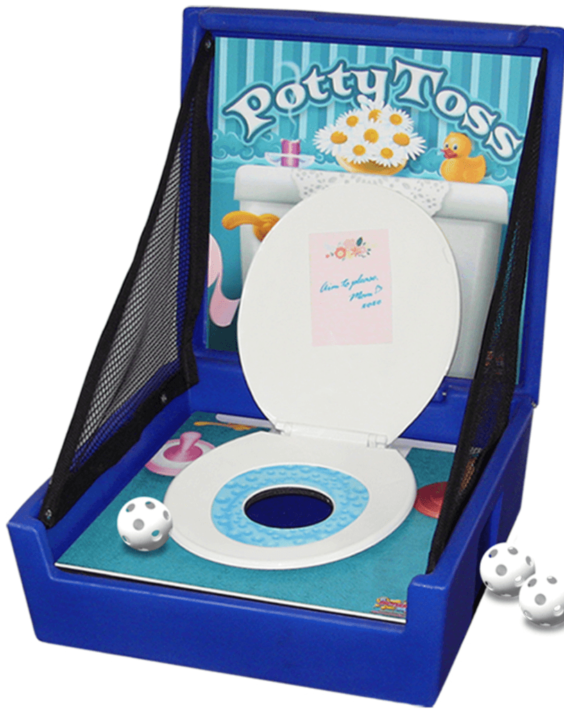 Potty Toss, Carnival Game, Carnival Booth, Carnival Tent