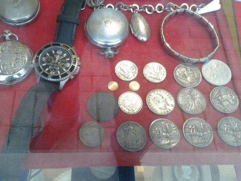 orologi e monete
