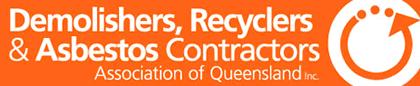 demolishers recyclers and asbestos contractors association of queensland logo