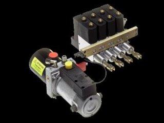 centralina monoblocco con attuatori