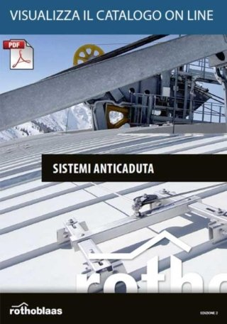 Catalogo sistemi anticaduta on line