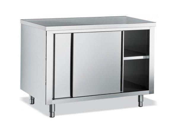 tavolo in acciaio per cucina professionale