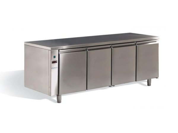 tavolo - banco in acciaio cucina professionale
