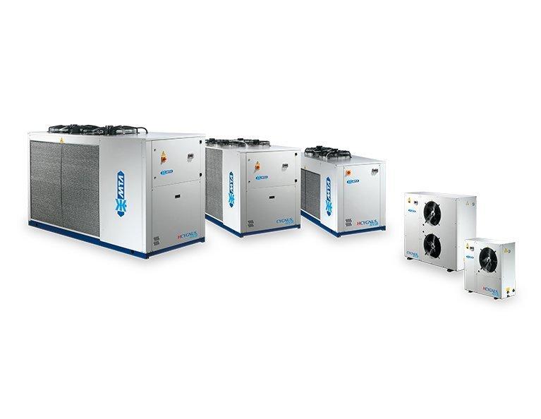 HCygnus air cooled heat pump