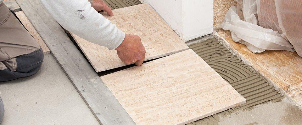 Tiling work
