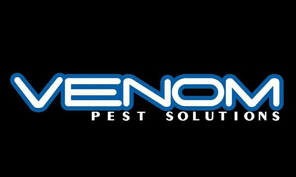 Venom pest control logo