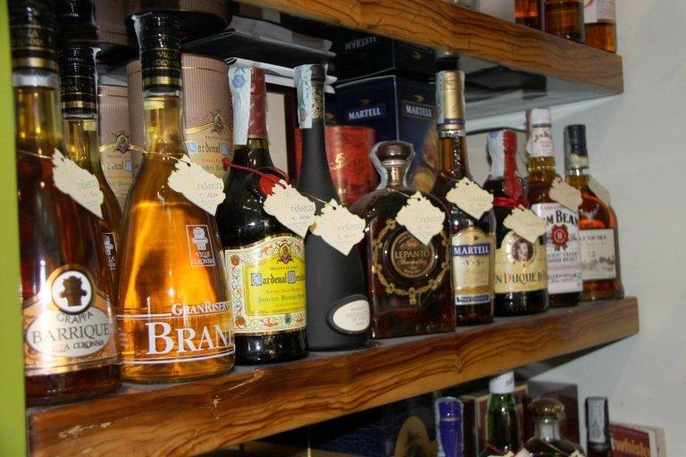 Liquori e grappe