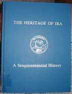 The Heritage of Ira - A Sesquicentennial History published in 1990