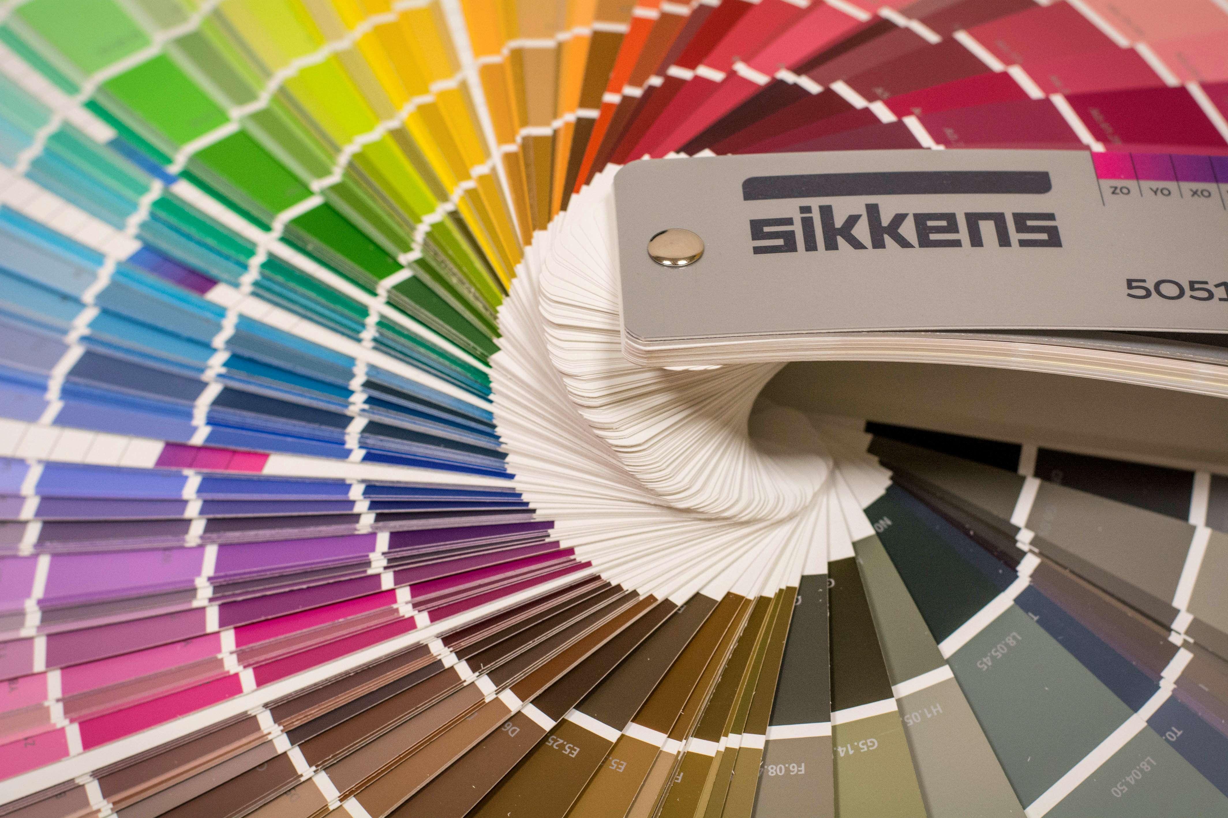 Palette di colori Sikkens