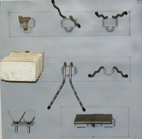 Vari tipi di ancoraggi per forni